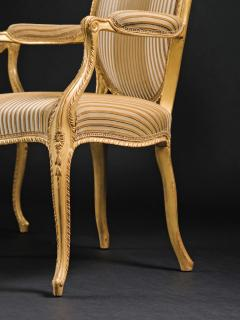 A Pair of George III Giltwood Armchairs - 1308179