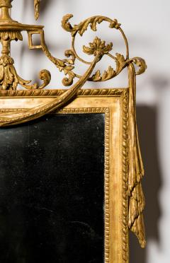 A Pair of George III Giltwood Gilt Composition Pier Mirrors - 1071226