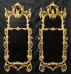 A Pair of Giltwood Pier Mirrors - 796804
