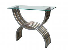 A Pair of Italian Modernist Metal Consoles - 1601060