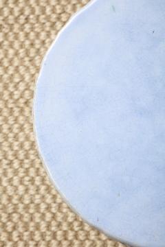 A Pair of Light Blue Garden Stools - 1311098
