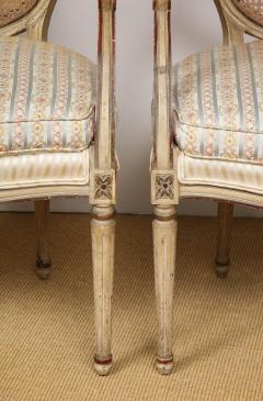 A Pair of Louis XVI Arm Chairs - 1164917