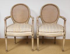 A Pair of Louis XVI Arm Chairs - 1164918