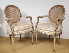 A Pair of Louis XVI Arm Chairs - 1164919