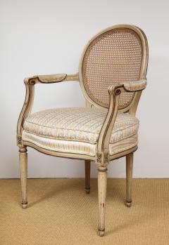 A Pair of Louis XVI Arm Chairs - 1164924