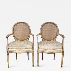 A Pair of Louis XVI Arm Chairs - 1165934