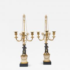 A Pair of Louis XVI Candelabra - 996593