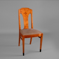 A Pair of Moderne Chairs Swedish ca 1920 - 44745