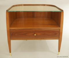 A Pair of Modernist Bedside Tables by Iliad Design - 453971