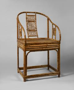 A Pair of Rare Chinese Bamboo Armchairs - 794862