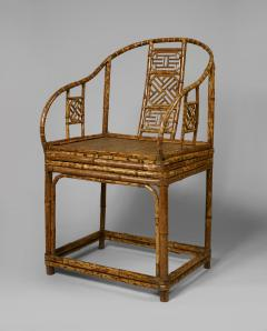 A Pair of Rare Chinese Bamboo Armchairs - 794863