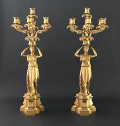 A Pair of Regency Candelabra - 1049164