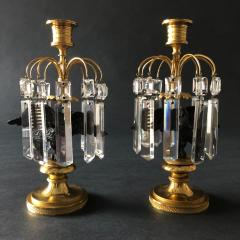 A Pair of Regency Candlesticks - 1334259