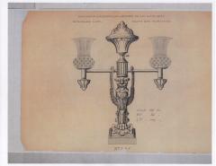 A Pair of Regency Two Light Argands - 251493