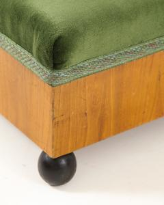 A Pair of Swedish Elm Ebonized Footstools Circa 1840s - 1292565