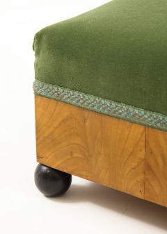 A Pair of Swedish Elm Ebonized Footstools Circa 1840s - 1292566