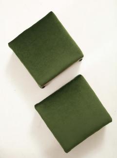 A Pair of Swedish Elm Ebonized Footstools Circa 1840s - 1292568