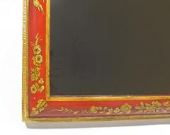 A Pair of William Mary Red Japanned Pier Mirrors - 1306350