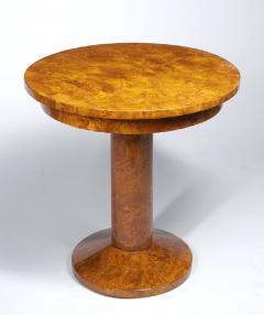 A Petite Art Deco Pedestal Table - 453989