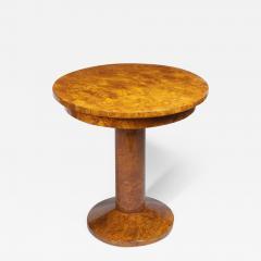 A Petite Art Deco Pedestal Table - 454799