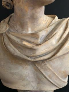 A Plaster Bust of Apollo Belvedere - 2104990
