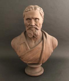 A Plaster Bust of Michelangelo - 2108053