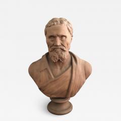 A Plaster Bust of Michelangelo - 2109780