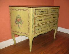 A Polychromed Painted Italian Commode - 115540