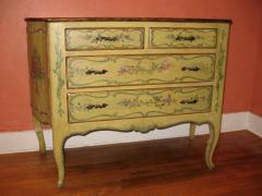 A Polychromed Painted Italian Commode - 115542