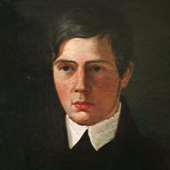 A Portrait of a Young Man Danish School Late 19th Century - 719529