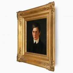 A Portrait of a Young Man Danish School Late 19th Century - 719539