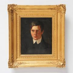A Portrait of a Young Man Danish School Late 19th Century - 719542