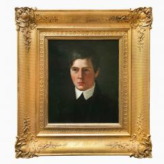 A Portrait of a Young Man Danish School Late 19th Century - 719544