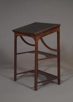 A Rare Early George III Mahogany Double Ratcheted Reading Cum Drawing Table - 1479108