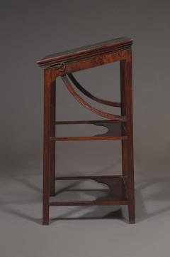 A Rare Early George III Mahogany Double Ratcheted Reading Cum Drawing Table - 1479111