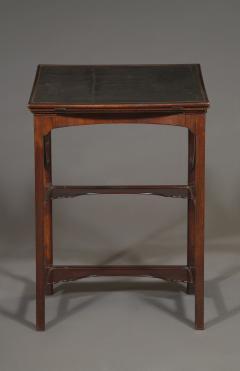 A Rare Early George III Mahogany Double Ratcheted Reading Cum Drawing Table - 1479112