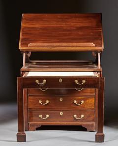 A Rare Georgian Mahogany Architects Desk Chest - 589066