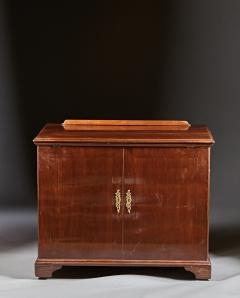 A Rare Georgian Mahogany Architects Desk Chest - 589070
