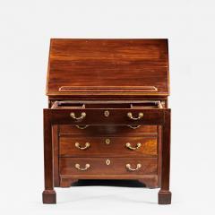 A Rare Georgian Mahogany Architects Desk Chest - 591500