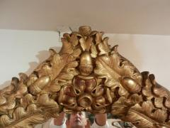 A Rare Grand Scaled Antique Gilt Wall Mirror - 255699