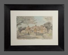 A Rare Group Of Five Perspective Drawings Designed By Robert Weir Schultz - 1882500