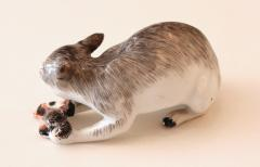 A Rare Meissen Model of a Wildcat with Prey - 79626