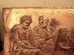 A Rare Pair of Italian Gilt Lead Plaques - 131870