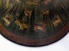 A Rare Pair of Kashmiri Indo Persian Lacquered Copper Vases - 610543