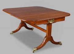 A Rare Regency Morgan and Sanders Mahogany Dining Table - 1026819