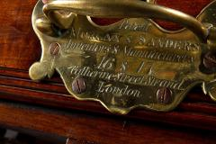 A Rare Regency Morgan and Sanders Mahogany Dining Table - 1026820