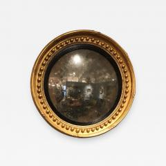 A Regency Convex Mirror - 884756