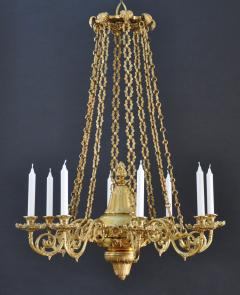 A Regency Eight Light Chandelier - 826083