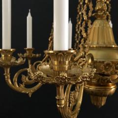 A Regency Eight Light Chandelier - 826086