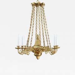 A Regency Eight Light Chandelier - 828980